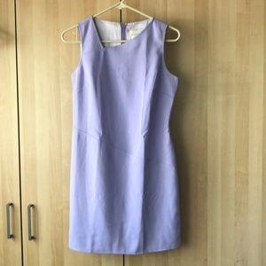 Asymmetrical neckline dress